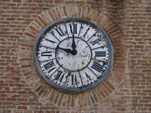Uhr in Madrid