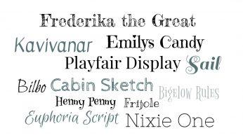 Free Fonts, gratis Schriftarten finden und verwenden