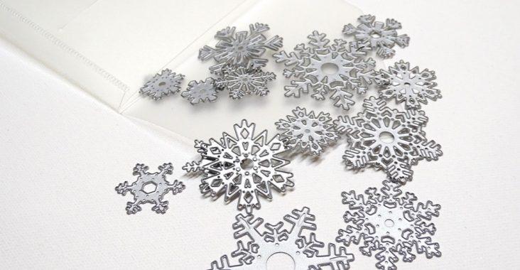 Sizzix Schneeflocken von Tim Holtz