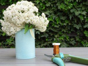 Dosenupcycling mit Kreidespray