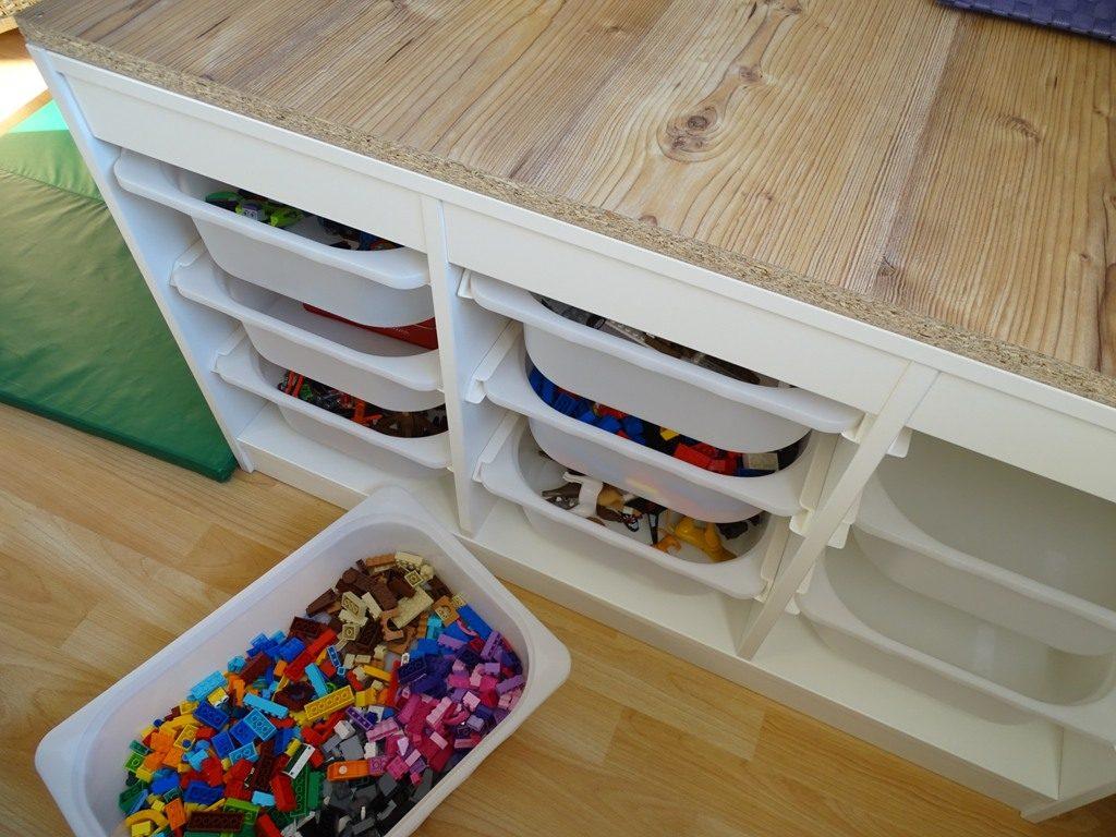 Trofast Spielzeugregal Ikea-Hack