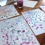 100 Bastelideen für Kinder Wasserfarben