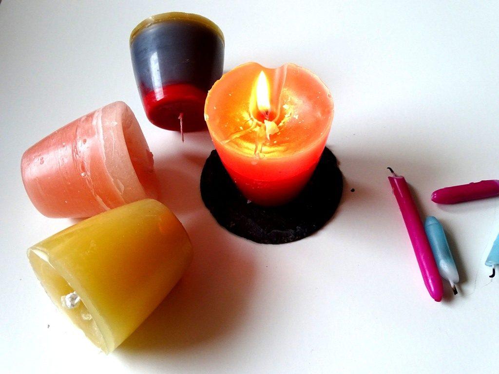 Kerzenreste upcyceln