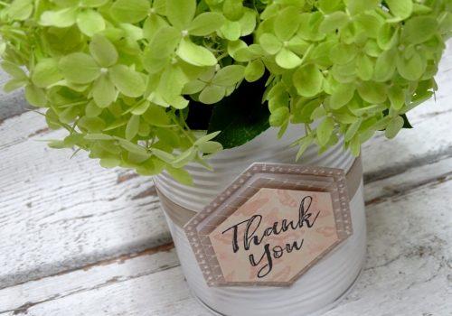 Dosenupcycling Flowerbox
