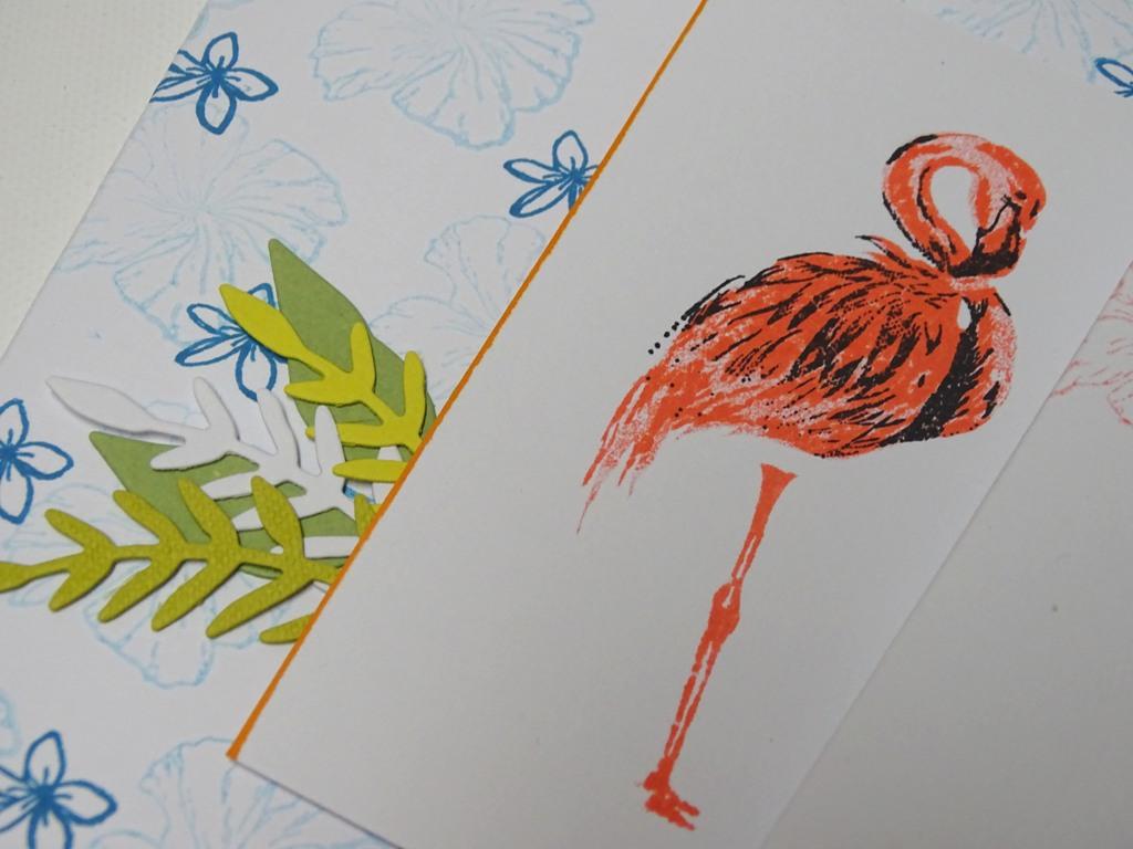 Flamingo-Karte