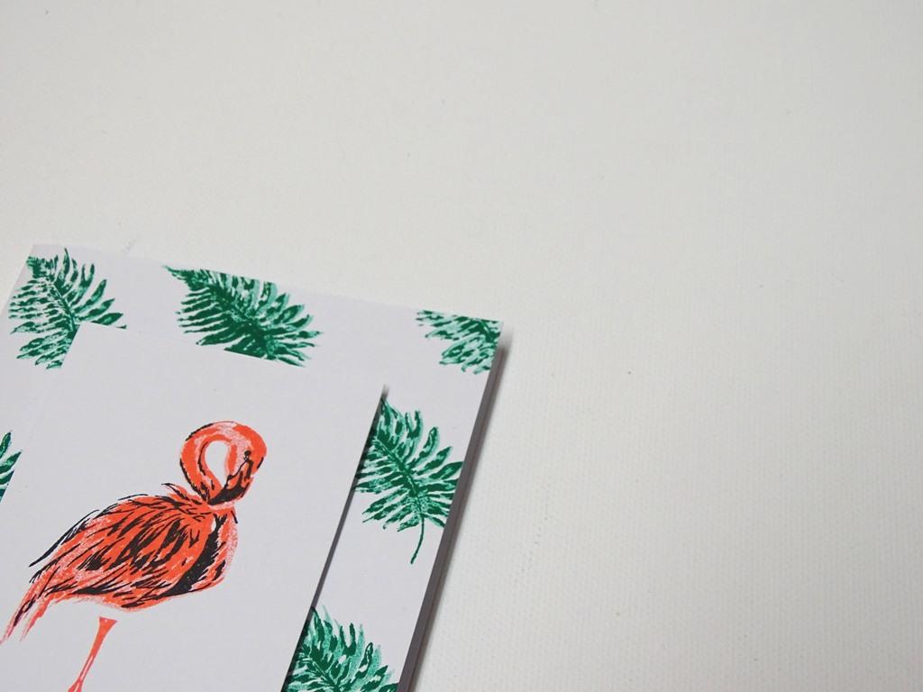 Flamingo-Stempel