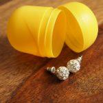 Überraschungsei Bastelideen: Aufbewahrung für Schmuck