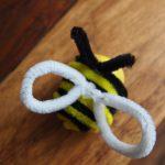 Überraschungsei Bastelideen: Biene