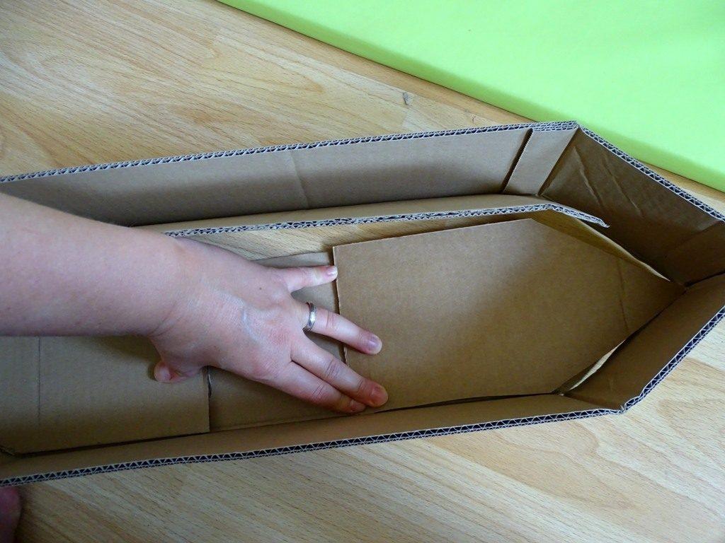 Schiff aus Karton basteln