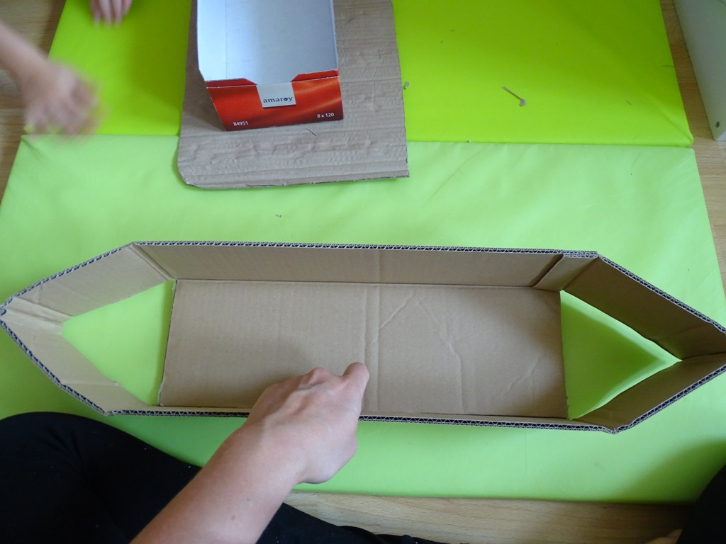 Karton Upcycling Wir Basteln Ein Schiff Vlikeveronika