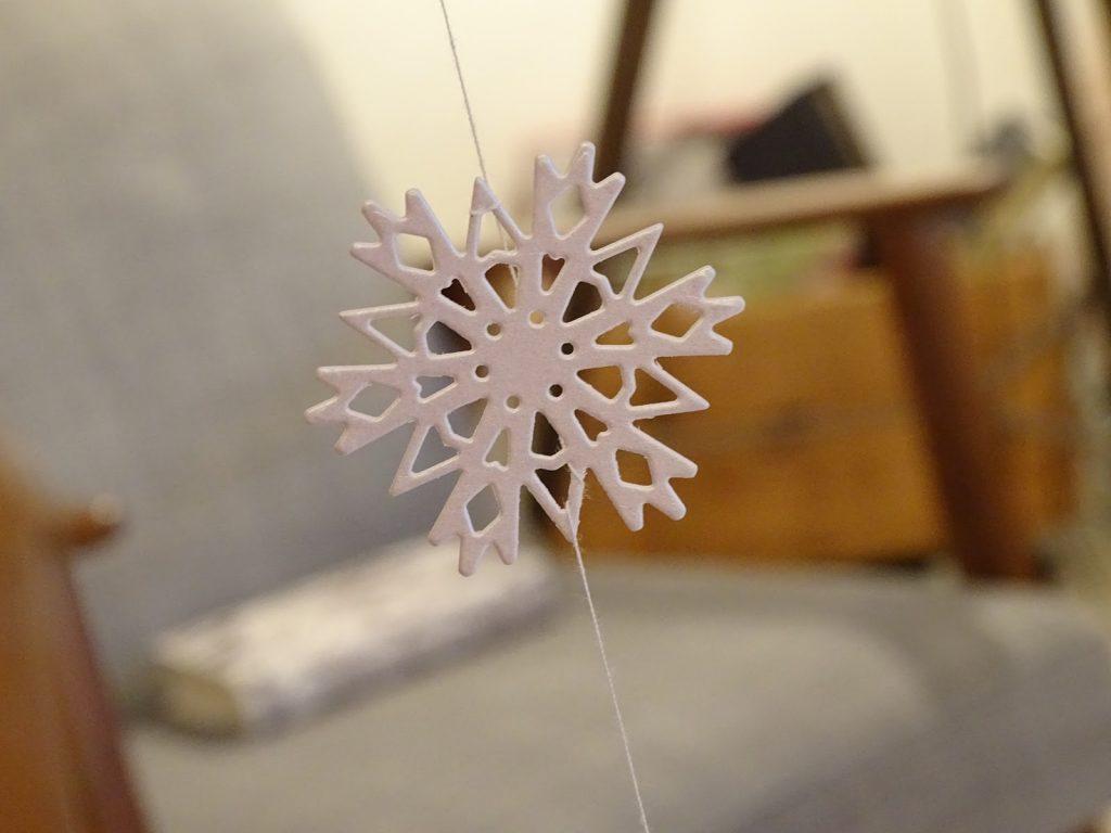 Bastelideen mit Schneeflocken von DIY-Bloggerin VlikeVeronika