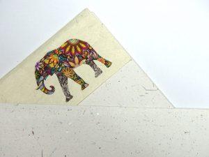 Papier aus Elefantendung, Papierspezialitäten