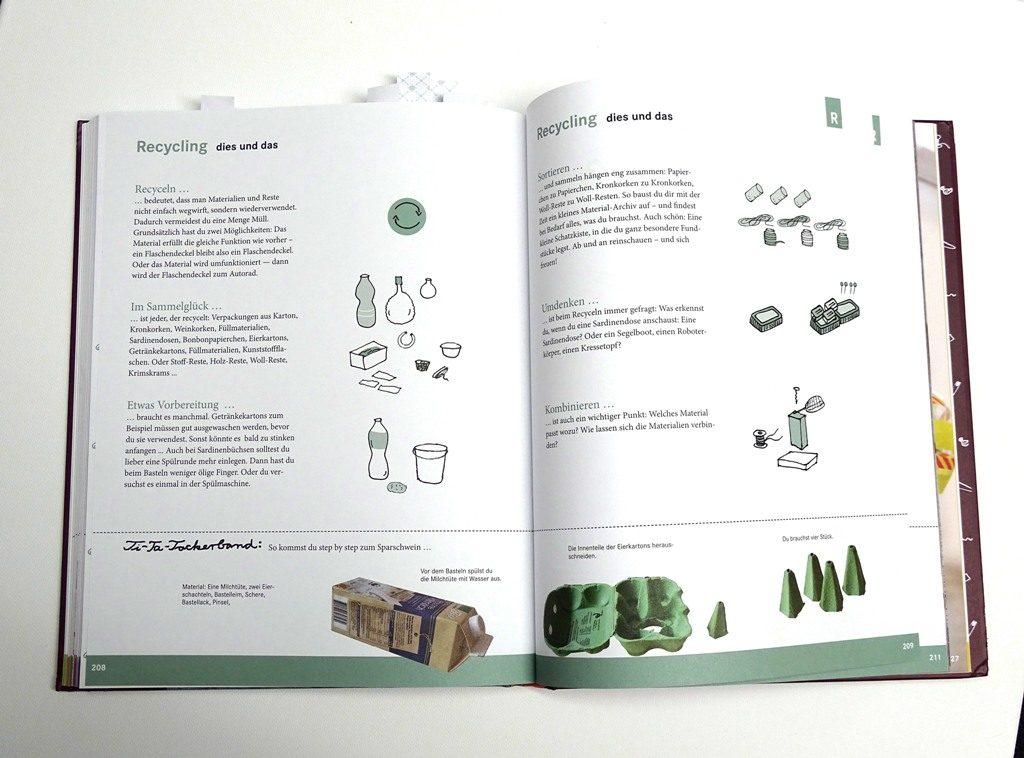 Upcycling mit Kindern, Bastelbuch