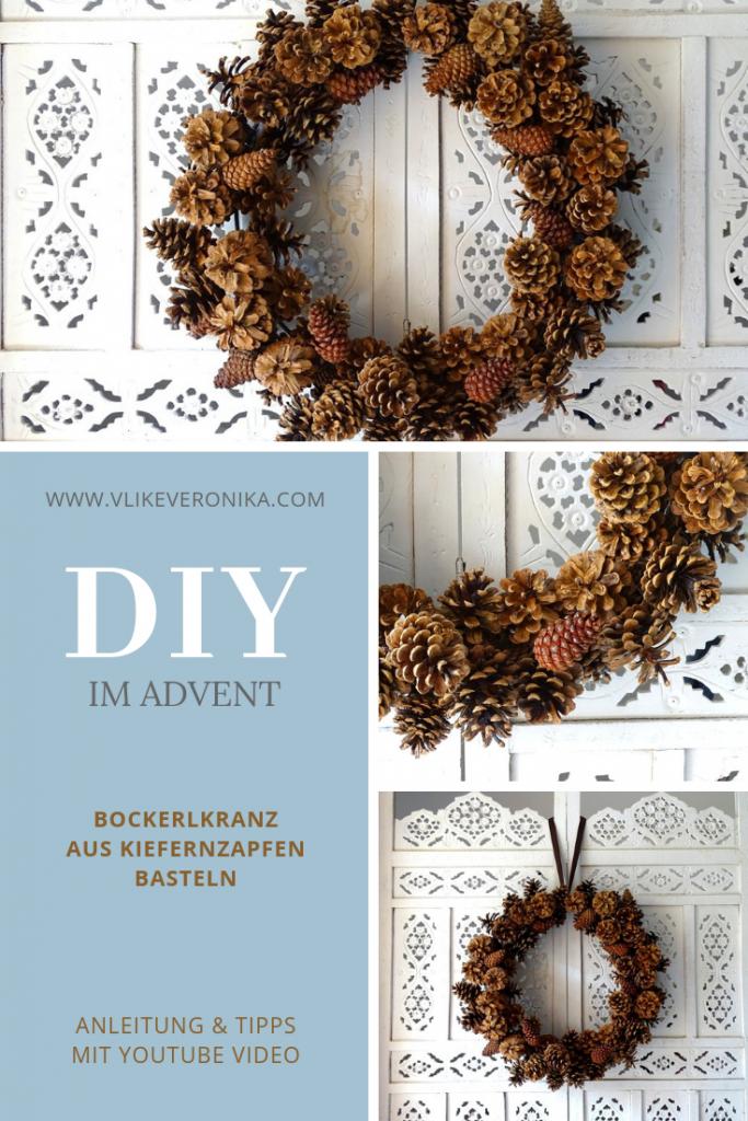 Basteln mit Zapfen und Bockerl, DIY-Blog Österreich VlikeVeronika