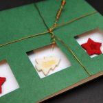 handgemachte Weihnachtskarten für Firmen, klassisch