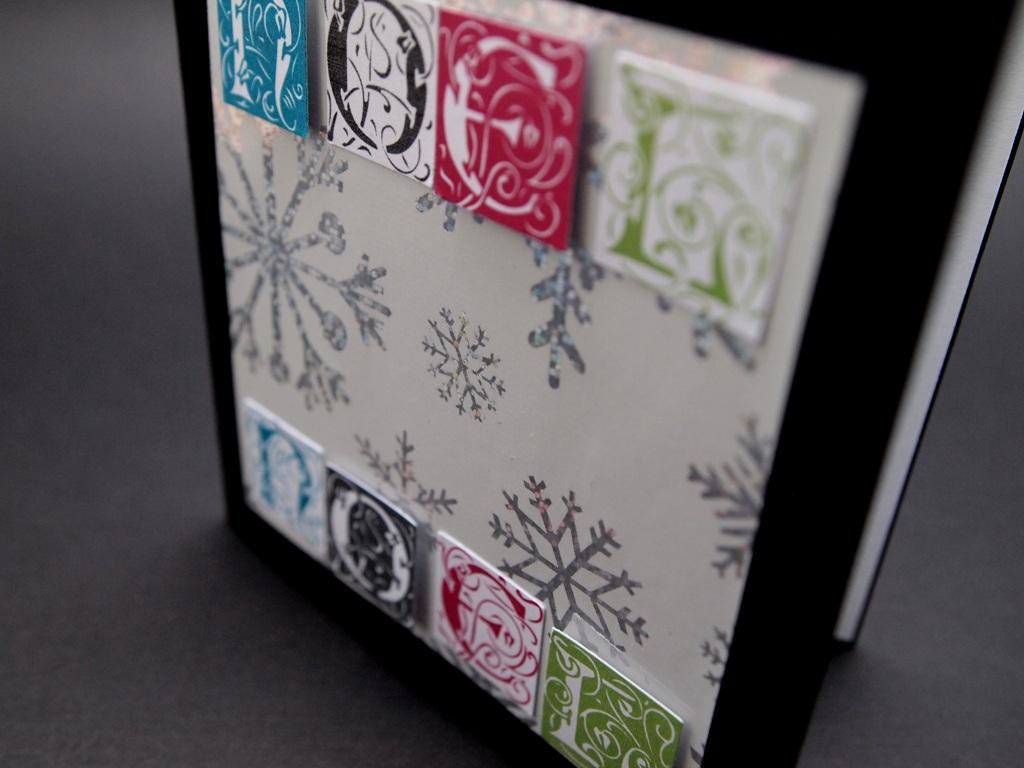 handgemachte Weihnachtskarten, Noel Noel