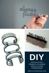 Acrylglas DIYs mit Wow-Effekt, Was kann man aus Plexiglas basteln?