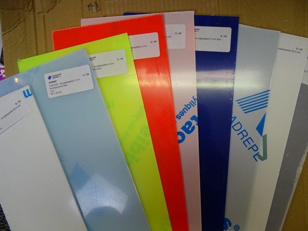 Acrylglasplatten von kunststoffplatten.at, Erfahrungsbericht
