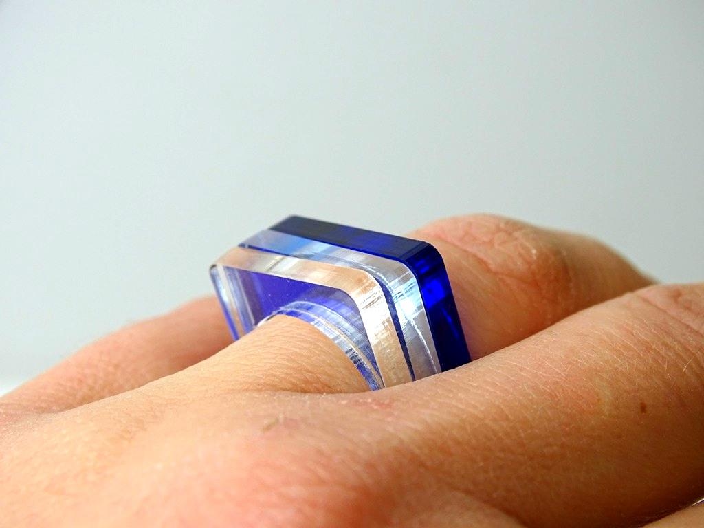 Ringe aus Acrylglas machen: DIY-Anleitung
