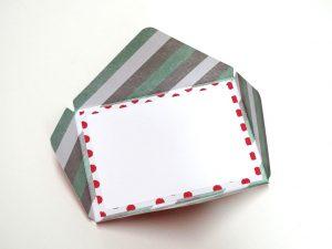 Kuvert und Karte in einem