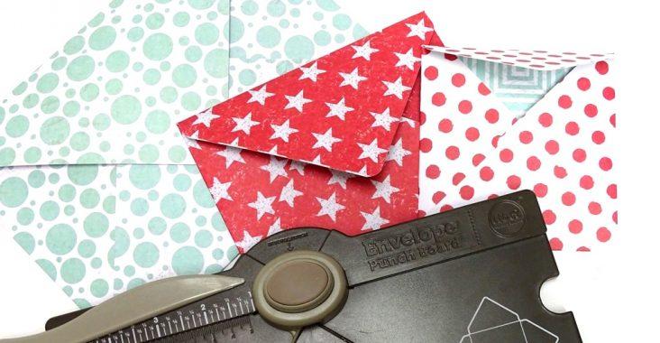 Envelope Punch Board: Erfahrungsbericht zum Falzbrett für Kuverts