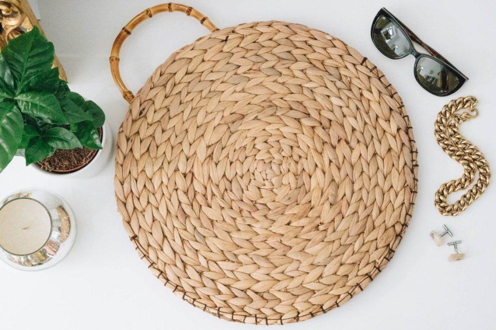 10 kreative Muttertagsgeschenke zum Selbermachen: IKEA-Hack DIY-Strohtasche