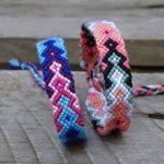 Pfeilmuster knüpfen | DIY-Freundschaftsband