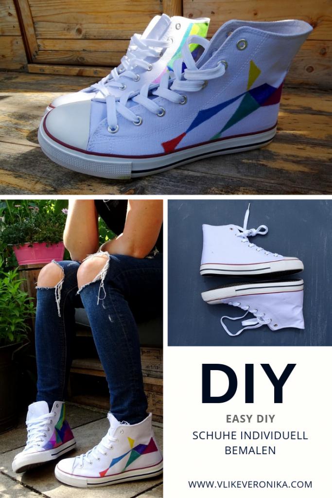 Bemalte Schuhe für Festivals, Konzerte oder mit Deinem Lieblingsmotiv. Finde Deinen individuellen Style.