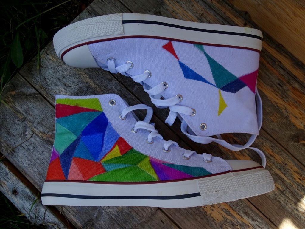 Schuhe selber bemalen geht ganz leicht