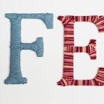 Basteln mit Wolle und Karton: Wollwickelbuchstaben