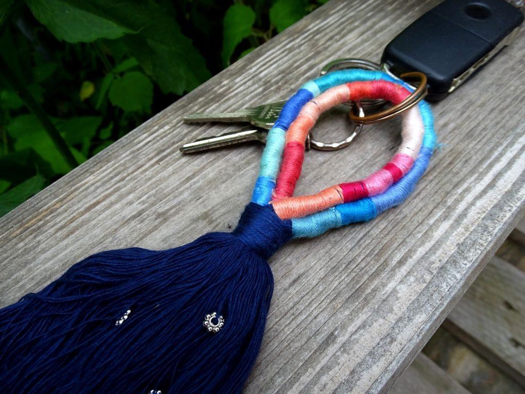 Schlüsselanhänger im Boho-Style