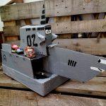 Upcycling aus Karton: Patrouillen-Schiff aus Cars 2