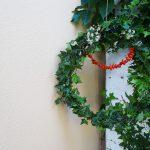 Herbstkranz selber basteln aus Naturmaterial