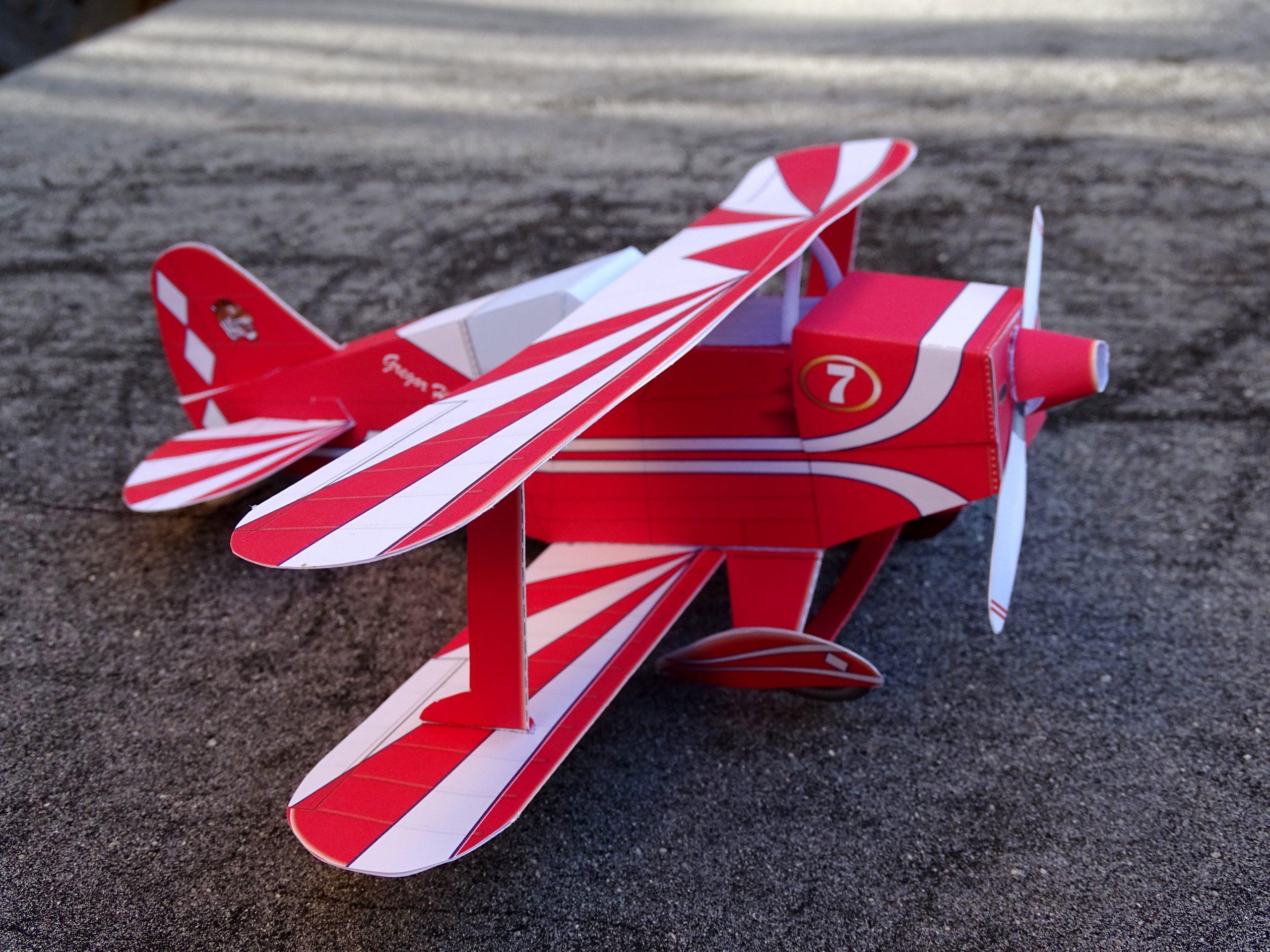 Bastelbogen Flugzeug online kaufen