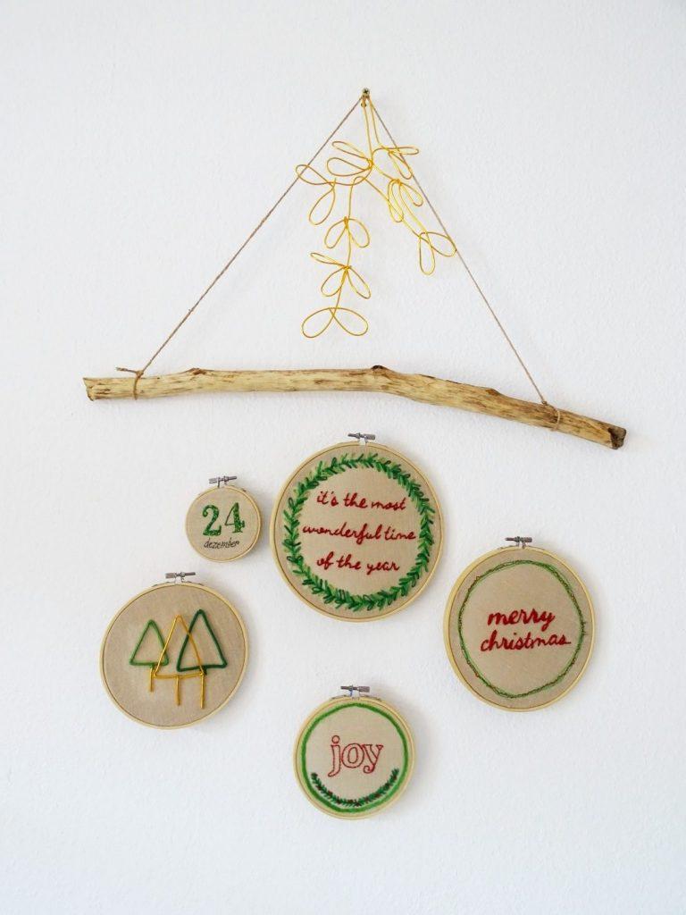 Weihnachtliche Stickvorlagen kostenlos herunterladen und sticken