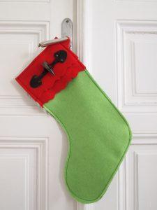 Christmas Stockings nähen - So geht das mit dem Nikolostiefel