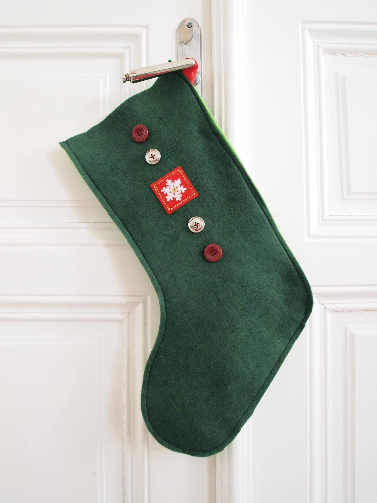Christmas Stockings nähen in traditionellen Farben