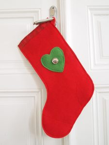 Christmas Stockings nähen - wie funktioniert die amerikanische Tradition