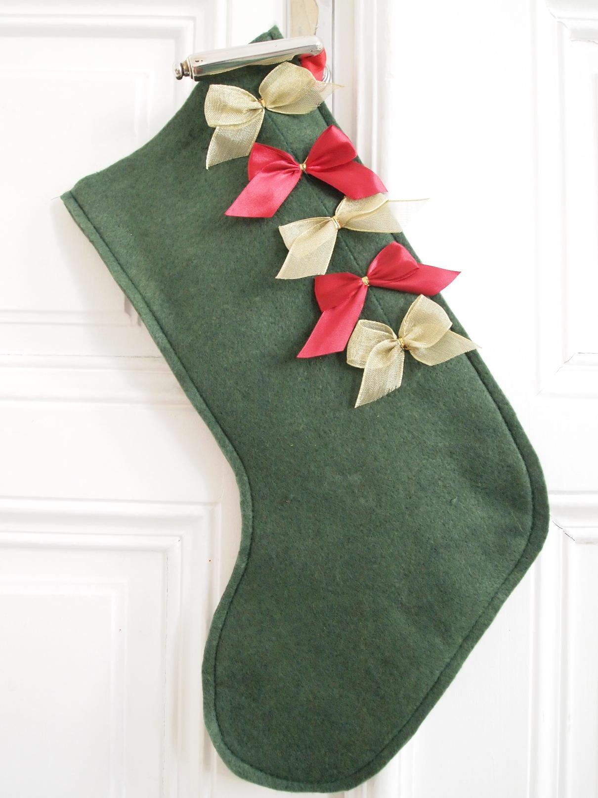 Christmas Stockings aus Resten nähen