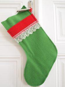 Christmas Stockings nähen mit Filz