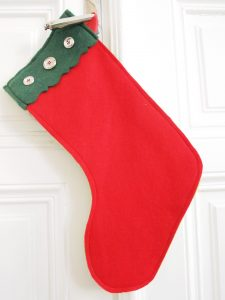 Christmas Stockings nähen mit Stoffresten