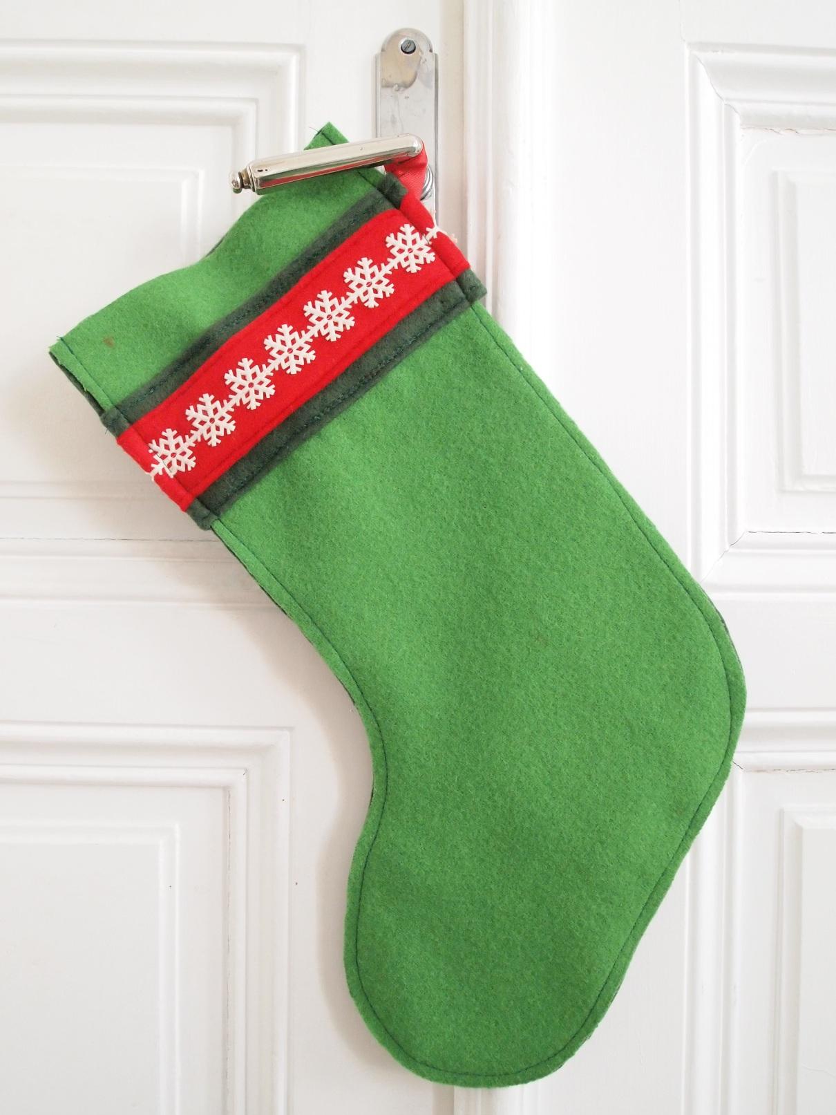 Christmas Stockings nähen Tutorial