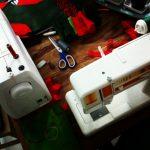 Christmas Stockings mit zwei Nähmaschinen nähen