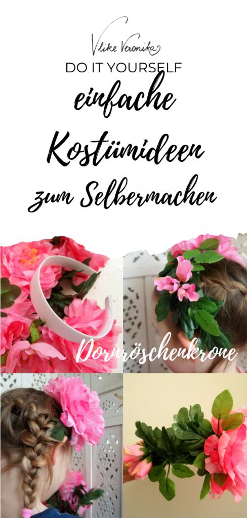 Dornröschenkostüm DIY-Anleitung