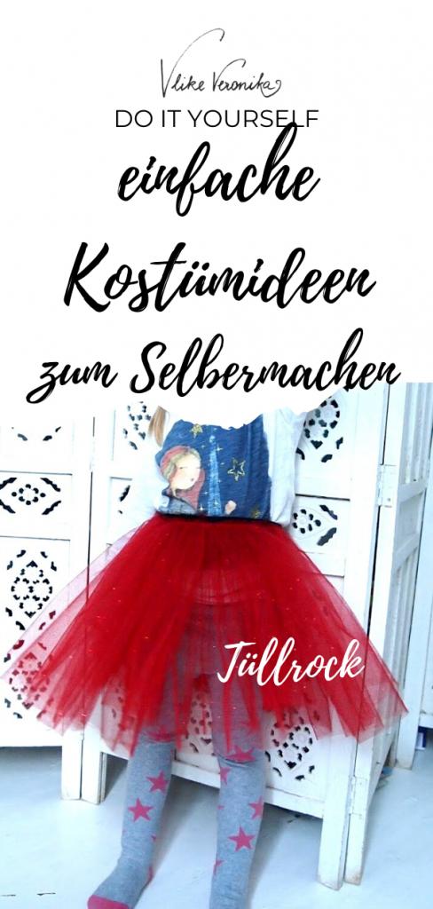 Kostümideen zum Selbermachen - VLIKEVERONIKA  DIY. UPCYCLING