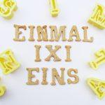 Einmaleins-Spiele: Rechnen lernen mit 1x1-Keksen