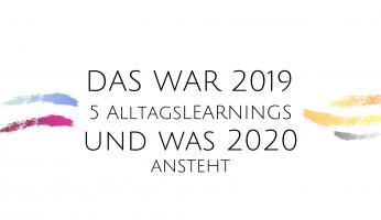 Jahresrückblick 2019 und Jahresplanung 2020: Neujahresvorsätze,
