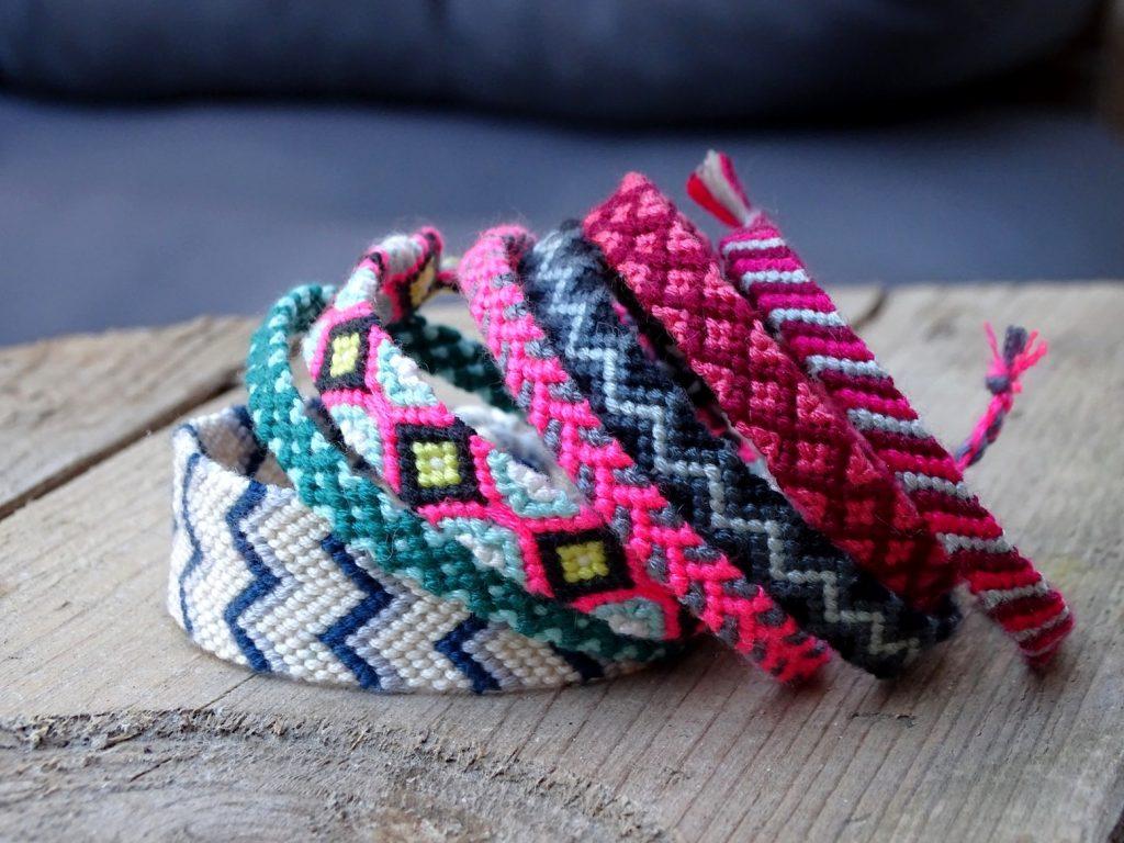 Freundschaftsarmbänder vom VlikeVeronika DIY-Blog