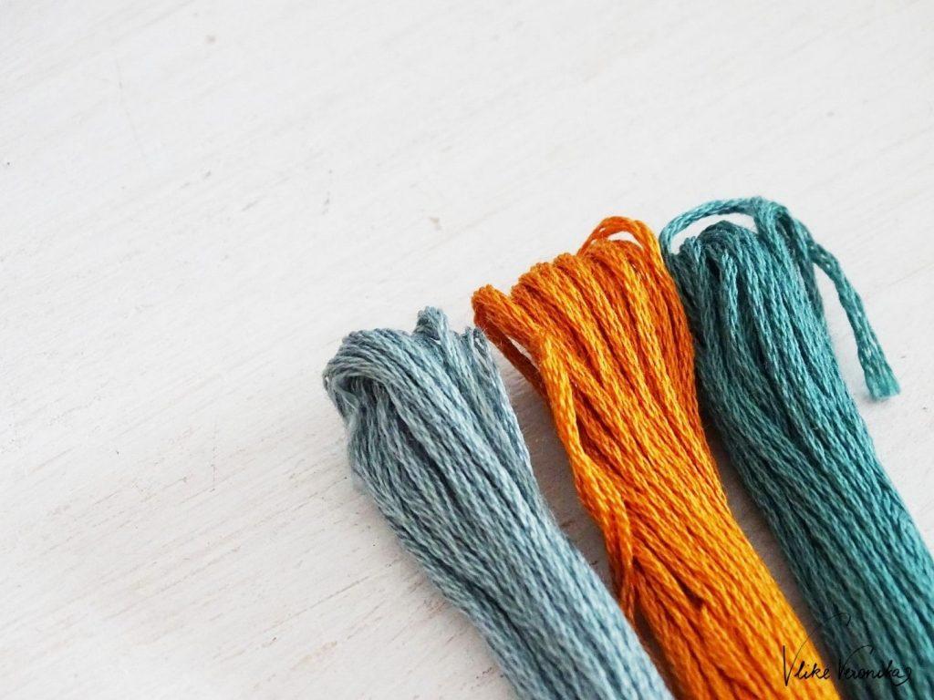 Ocker, Petrol und Graublau: die perfekten Herbstfarben für Freundschaftsbänder, die Du in vielen Mustern knüpfen kannst