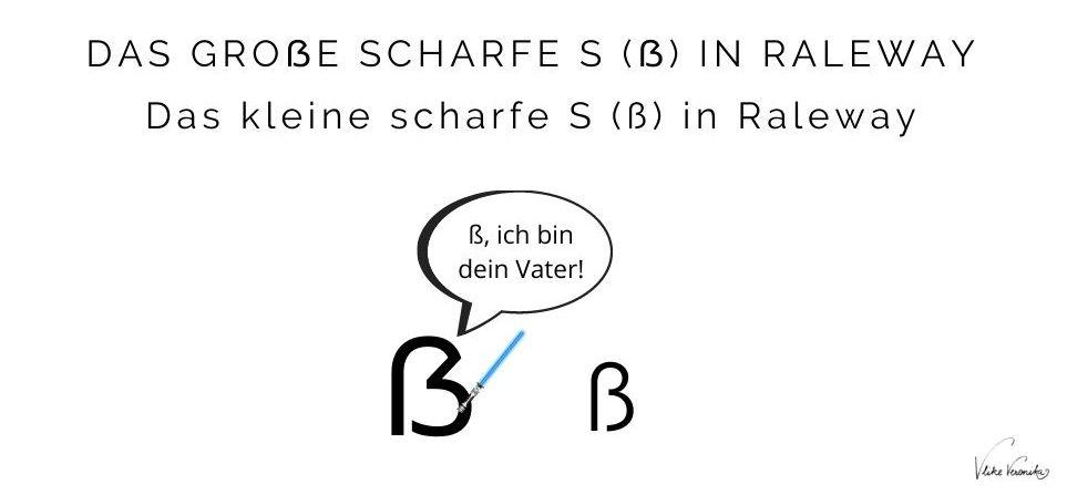 Wie unterscheiden sich das große scharfe S und das kleine scharfe S ß optisch?